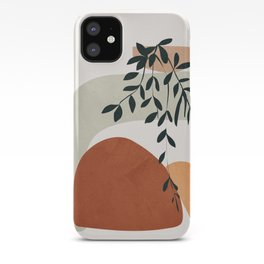 Soft Shapes I iPhone Case
