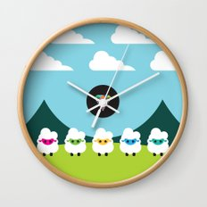 Magic Sheep Wall Clock