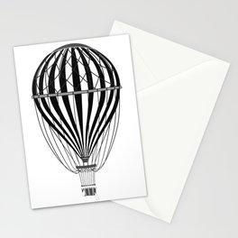 Retro Balloonist Hot Air Balloon Pilot Ballooning Stationery Cards