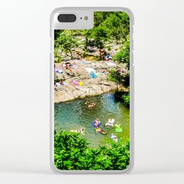 Barton Springs - Austin, Texas Clear iPhone Case