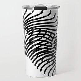 Zebra Sonnet Travel Mug