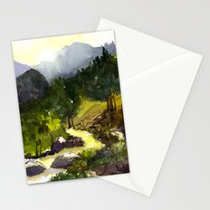 Golden afternoon Stationery Cards