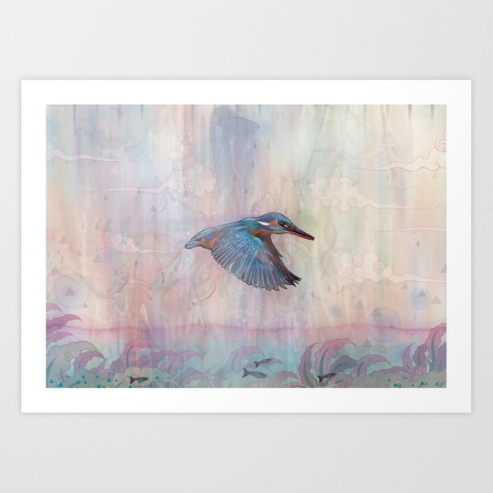 Terror From Above Art Print