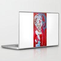 marie antoinette Laptop & iPad Skins featuring Marie-Antoinette by CokecinL