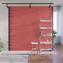 LIVING CORAL - WITH DARK FRAYED EDGES Wall Mural
