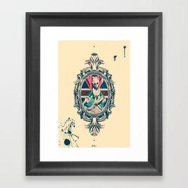 Bourgeoisie Woman Framed Art Print