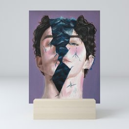 A different kind of pain Mini Art Print