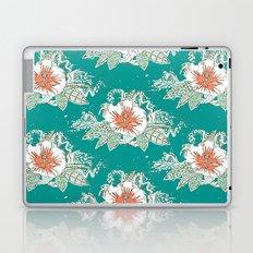 hibiscus surf retro Laptop & iPad Skin