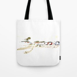 Speed Knockout Tote Bag