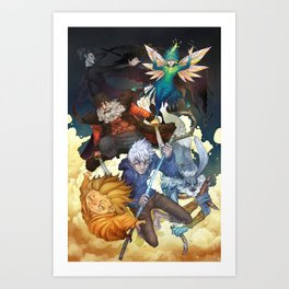 Rise of the Guardians Art Print