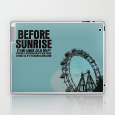 Before Sunrise Movie Poster Laptop & iPad Skin