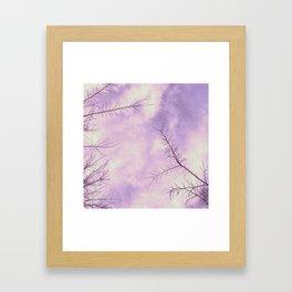 Pretty Days Framed Art Print