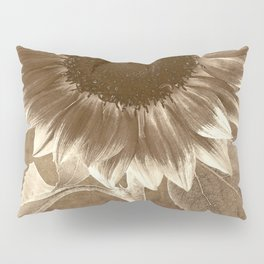 Vintage Flowers Digital Collage 3 Pillow Sham
