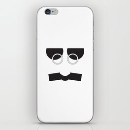 Face Groucho Graphic iPhone Skin