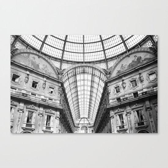 Galleria Vittorio Emanuele II Canvas Print