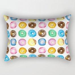 Donuts Festival Rectangular Pillow
