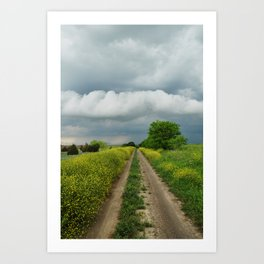 Navarro County, Texas #2 Art Print