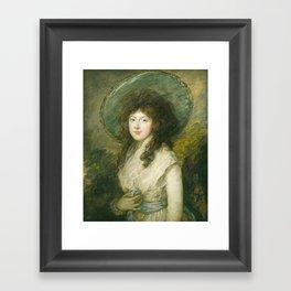 Thomas Gainsborough - Miss Catherine Tatton Framed Art Print