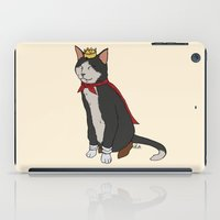 sith iPad Cases featuring Cait Sith by Paul Scott (Dracula is Still a Threat)