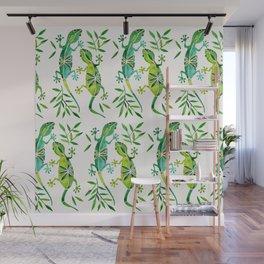 Geckos – Green Palette Wall Mural