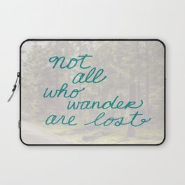 Time to Wander Laptop Sleeve