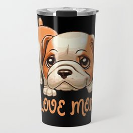 Dog Motif Dog Lover Gift Idea Design Travel Mug