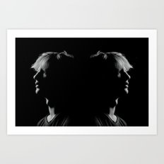Man to Man Art Print