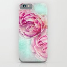 RED ROSES FOR THE LADY iPhone 6s Slim Case