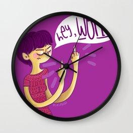 Hey World! Wall Clock