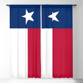 Texas Flag Blackout Curtain