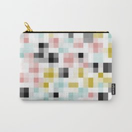 Pastel Pixels Carry-All Pouch