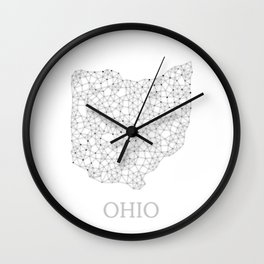 Ohio LineCity W Wall Clock