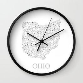Ohio LineCity W Wall Clock