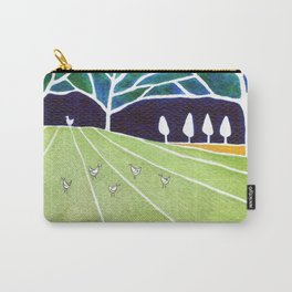 Fox on the meadow Carry-All Pouch