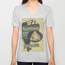Big Buddha Unisex V-Neck