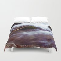 montana Duvet Covers featuring Montana Waters by Kenna Allison