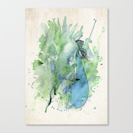 I am the greatest bird there is Canvas Print