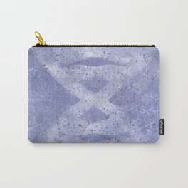 Hour Glass DNA Pattern Carry-All Pouch