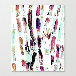 Rainbow Candy Sugar Cane, Spring, First World Problems Canvas Print