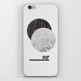 Calculating a Jump over the Moon iPhone Skin