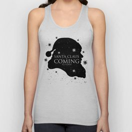 Santa Claus is Coming to Town Unisex Tank Top