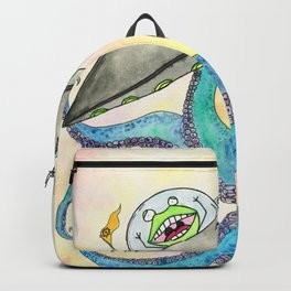 Alien vs Octopus Backpack