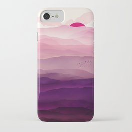 Ultra Violet Day iPhone Case
