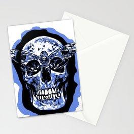 Moth Skull Stationery Cards