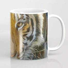 Tiger Face: Up Close and VERY Personal Coffee Mug
