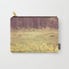 Resting Elk // Estes Park, CO Carry-All Pouch