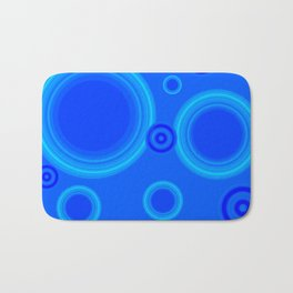 Hypnotic Blue Bath Mat