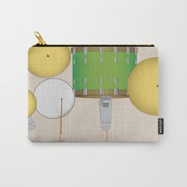 Drum Set Print Carry-All Pouch