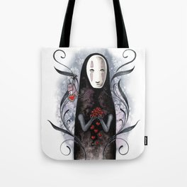 No Face Valentine Tote Bag