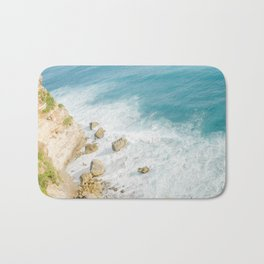 Bali Beach Waves Bath Mat